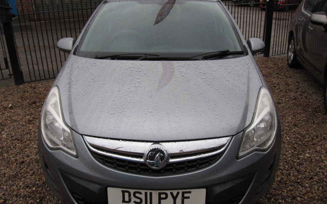 VAUXHALL CORSA 1.2exclusiv 2011 SORRY SOLD